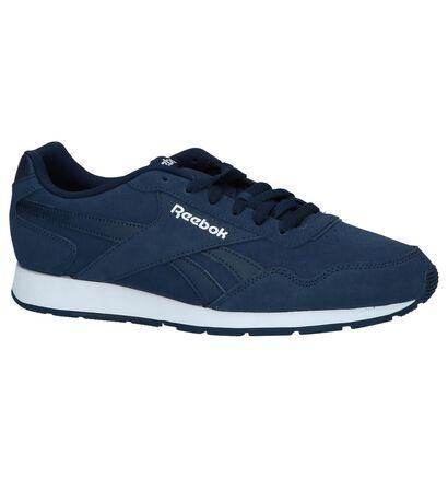 Reebok Royal Glide Blauwe Sneakers in daim (221587)