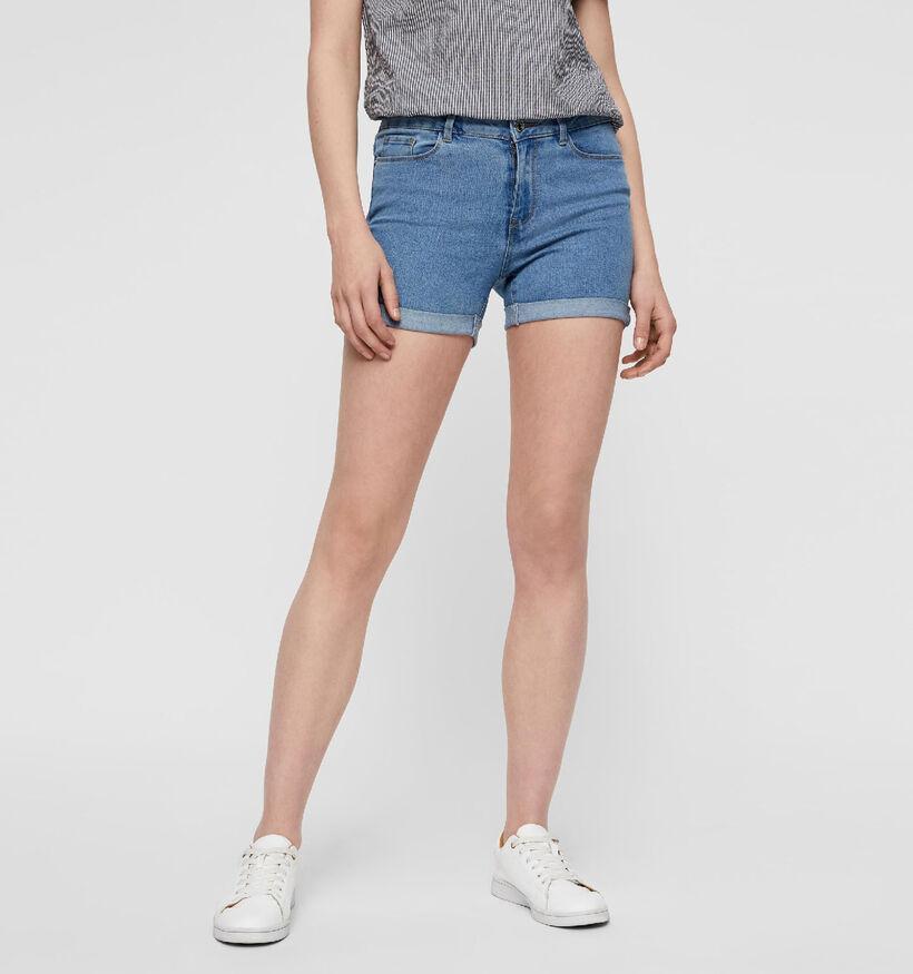 Vero Moda Hot Seven Short en Bleu (286654)