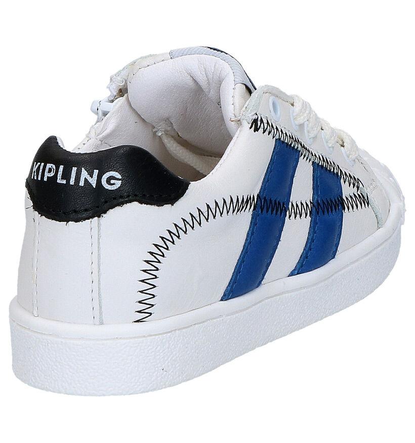 Kipling Furio Witte Lage Schoenen in leer (273233)