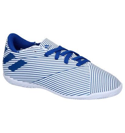 addias Nemeziz 19.4 Chaussures de foot en Bleu en simili cuir (264973)