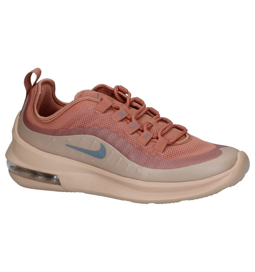 Donker Roze Runner Sneakers Nike Air Max Axis in stof (234092)