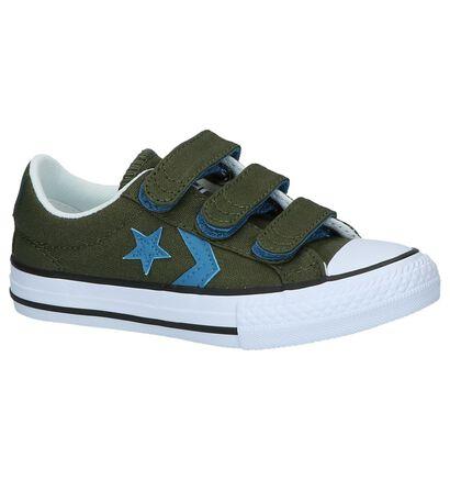 Donkerblauwe Sneakers Converse Star Player, Groen, pdp