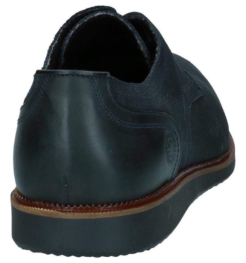 Bullboxer Chaussures habillées en Bleu foncé en nubuck (260616)