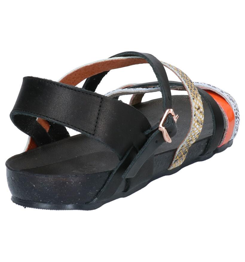 Red Rag Zwarte Sandalen in leer (275495)