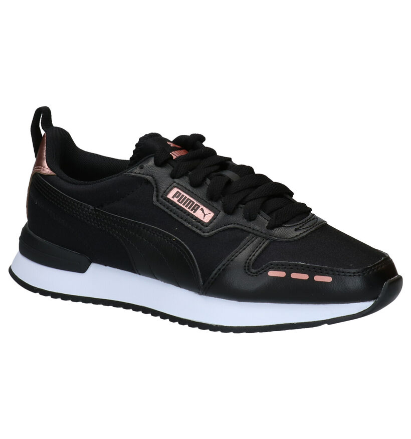 Puma Softfoam Zwarte Sneakers in kunstleer (276775)