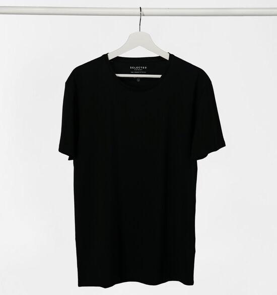 Selected Homme 3 Pack T-shirts en Noir