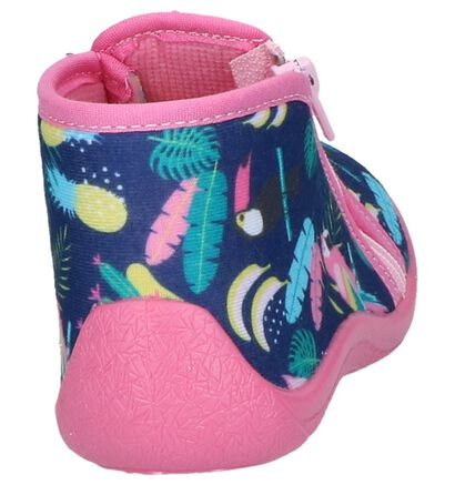 Multicolor Babypantoffels Milo & Mila By Torfs in stof (241358)