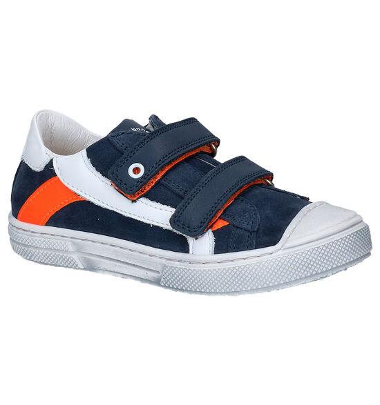 STONES and BONES Chaussures à velcro en Bleu
