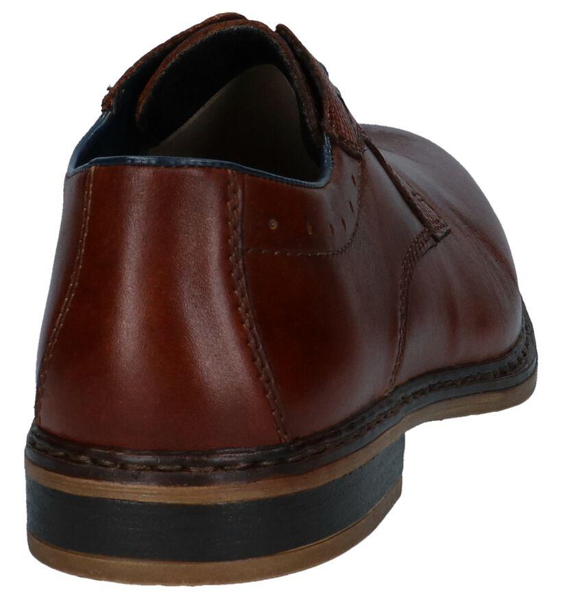 Rieker Chaussures habillées en Cognac en cuir (271965)