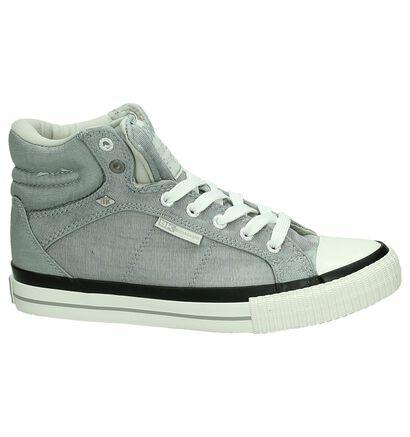 BK Sneakers hautes  (Gris clair), Gris, pdp