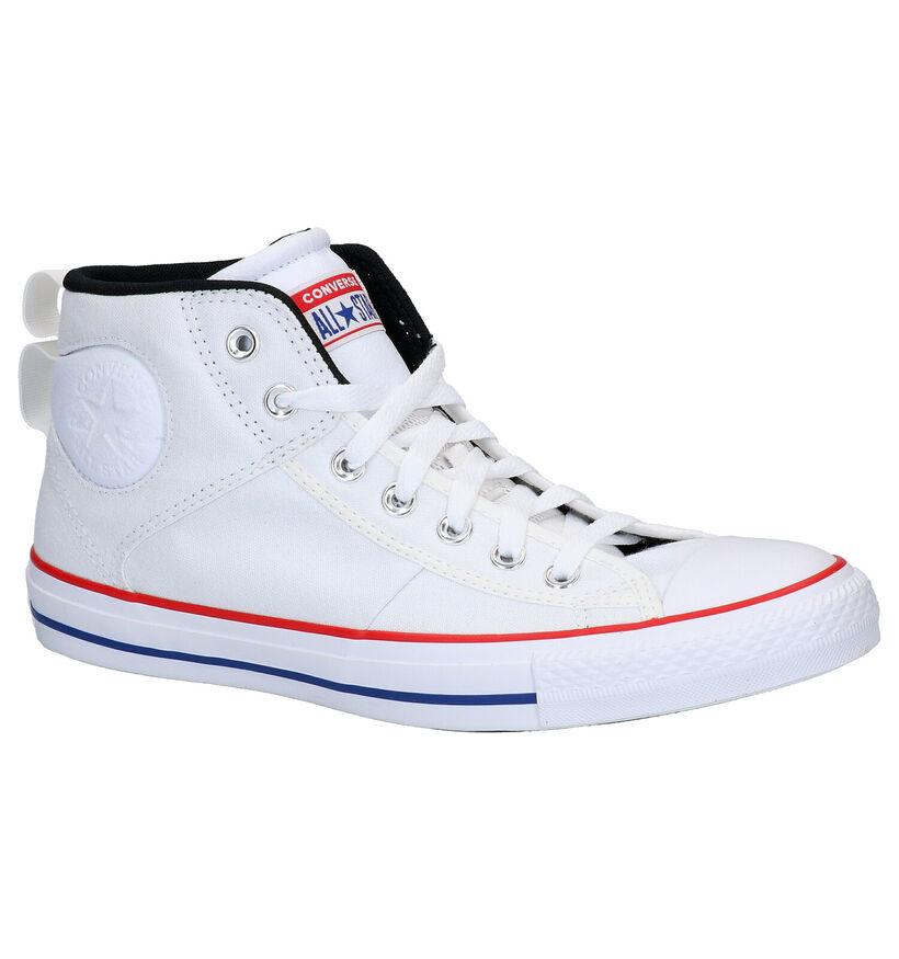 Converse Chuck Taylor AS Zwarte Sneakers in stof (266460)