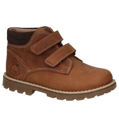 Bumba Chaussures hautes en Brun foncé en cuir (224078)