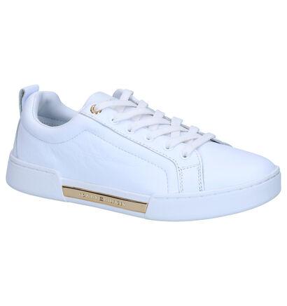 Tommy Hilfiger Witte Sneakers in leer (268348)