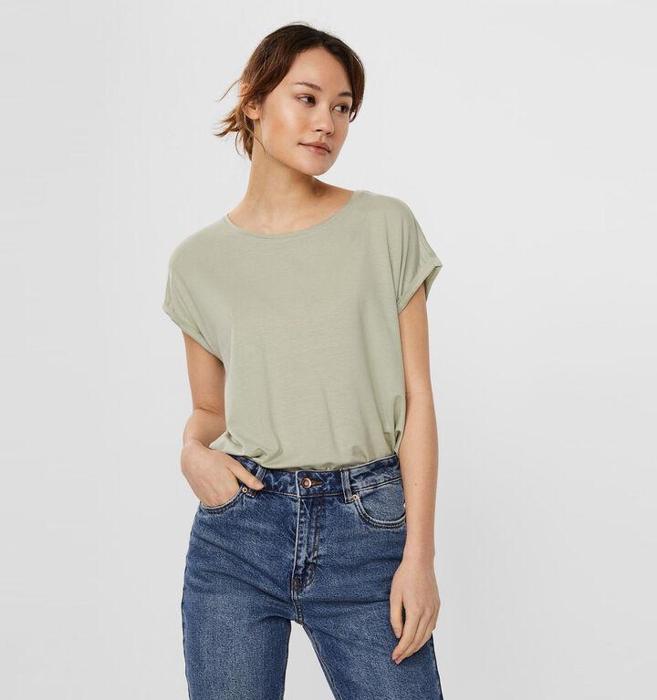 Vero Moda Ava T-shirt en Vert