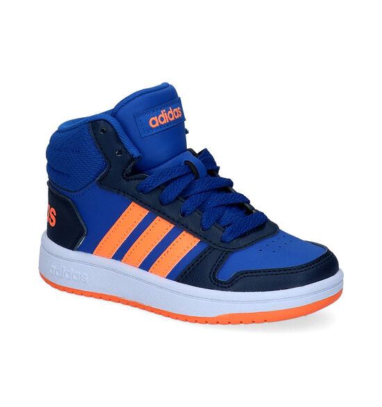 adidas Hoops Baskets hautes en Bleu