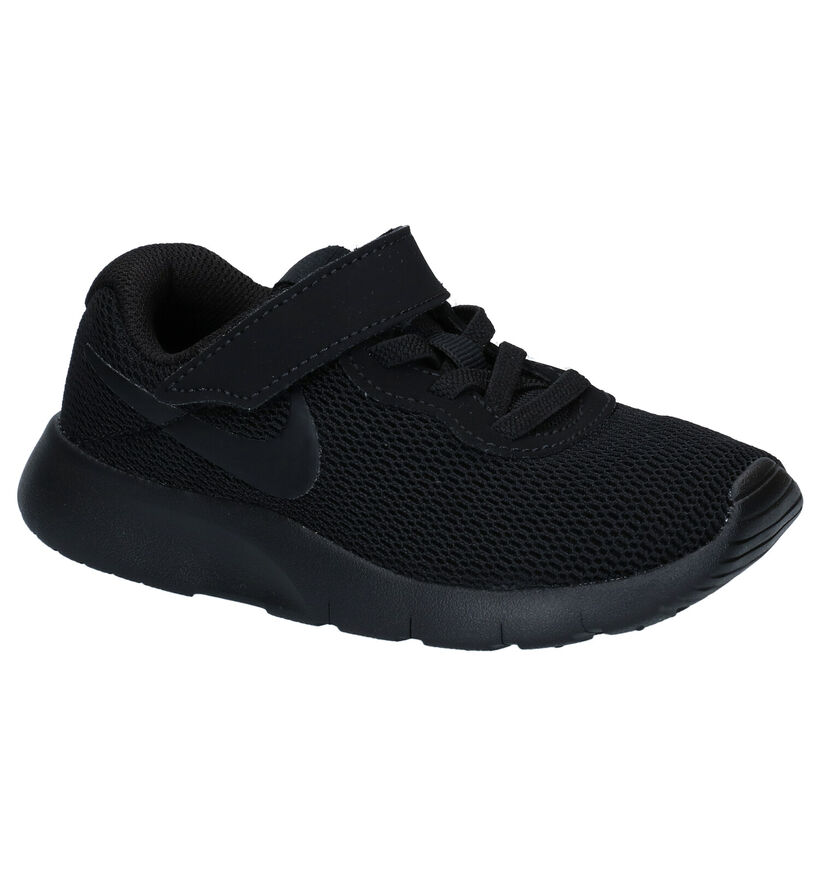 Zwarte Sneakers Nike Tanjun in stof (249913)