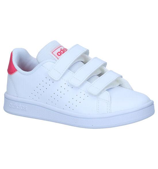 adidas Advantage C Baskets en Blanc