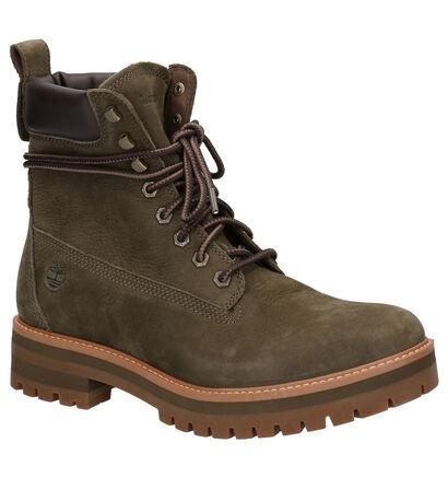 Timberland Courma Bruine Boots in leer (255245)