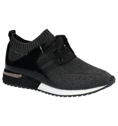 La Strada Zwarte Sneakers in stof (273889)