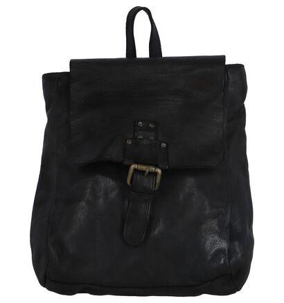 Bear Design Sacs à dos en Noir en cuir (264219)