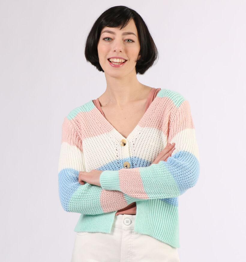 Estee Brown Multicolor Cardigan (297152)