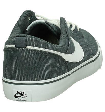 Zwarte Skateschoenen Nike SB Portmore, Grijs, pdp
