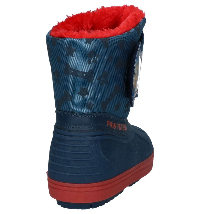 Donker Blauwe Snowboots Paw Patrol in stof (232439)