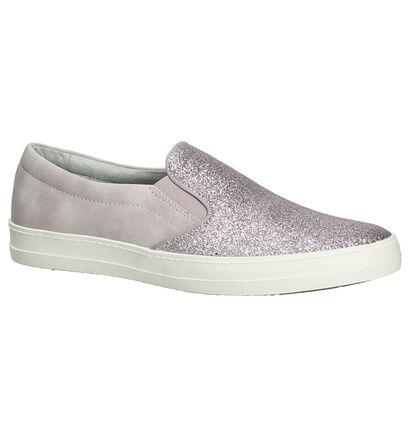 Paarse Slip-On Sneakers Tamaris, Paars, pdp