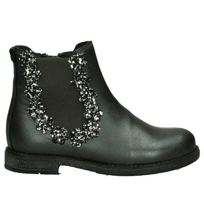 Little David Chaussures hautes en Noir en cuir (205414)