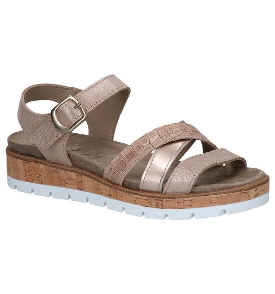 Mirel Mia Bronzen Sandalen