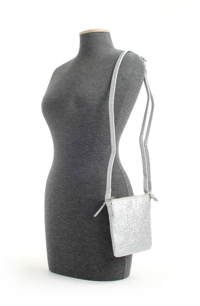 PB Fashion Sacs portés croisés  (Argent), Argent, pdp