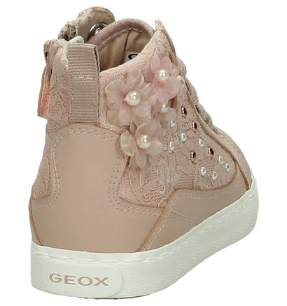 Geox Roze Rits/Veter Sneakers in kunstleer (190705)
