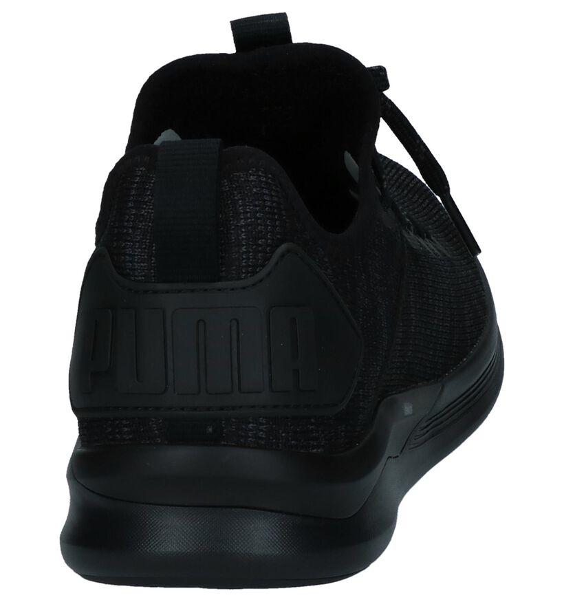 Puma Ignite Baskets slip-on en Noir en textile (239361)