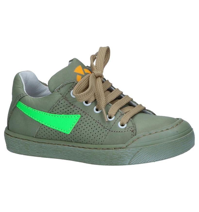 FR by Romagnoli Chaussures basses en Vert foncé en cuir (239943)
