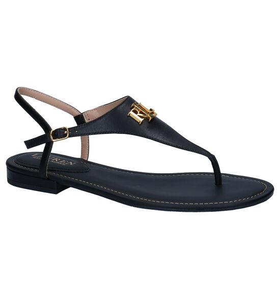 Lauren Ralph Lauren Zwarte Sandalen