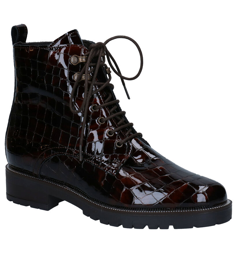 Gosh Bruine Boots in lak (278723)
