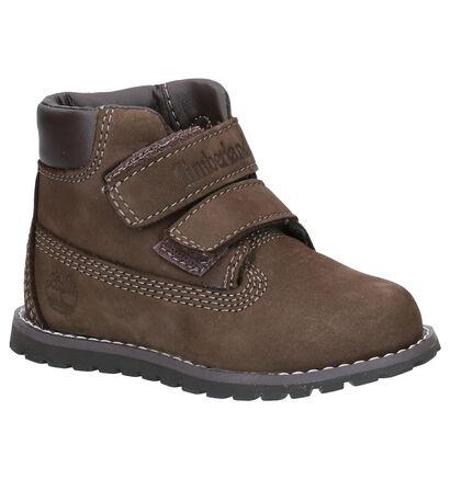 Timberland Pokey Pine Bruine Boots in daim (254748)