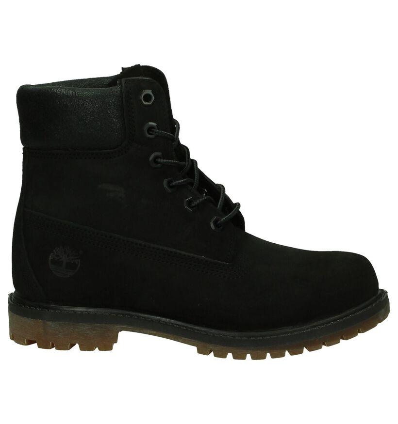 Zwarte Boots Timberland 6 Inch Premium in leer (200527)