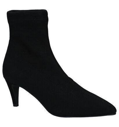 Vero Moda Stella Zwarte Korte Laarzen in stof (232301)