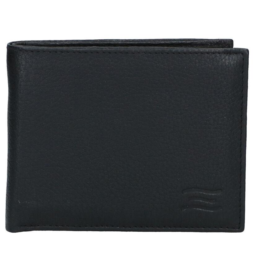 Crinkles Portefeuille en Noir en cuir (291836)