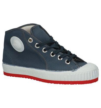 Hoge Sneakers Zwart 0051 Barvy, Grijs, pdp