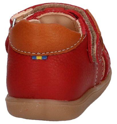 Rode Sandaaltjes Kavat Rullsand EP in leer (217942)