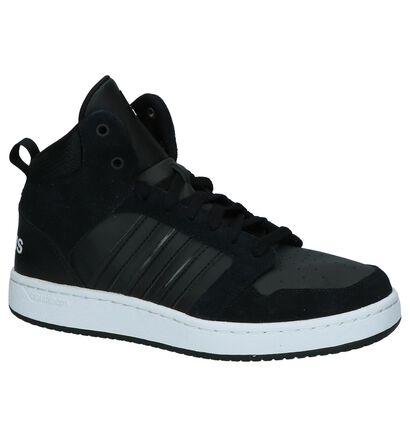 Zwarte Hoge Sportieve Sneakers adidas Cloudfoam Superhoops, Zwart, pdp