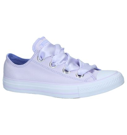 Paarse Lage Sportieve Sneakers Converse Chuck Taylor All Star in stof (210340)