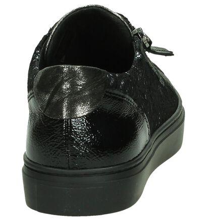 Tine's Zilvern Sneakers, Zwart, pdp