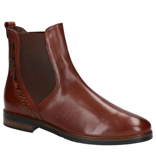 Maripé Cognac Chelsea Boots
