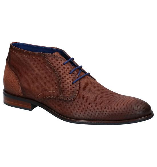 Braend Chaussures hautes en Cognac