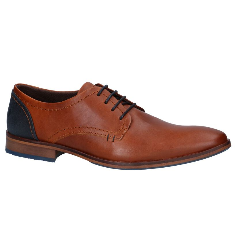 Bullboxer Chaussures habillées en Noir en cuir (276989)