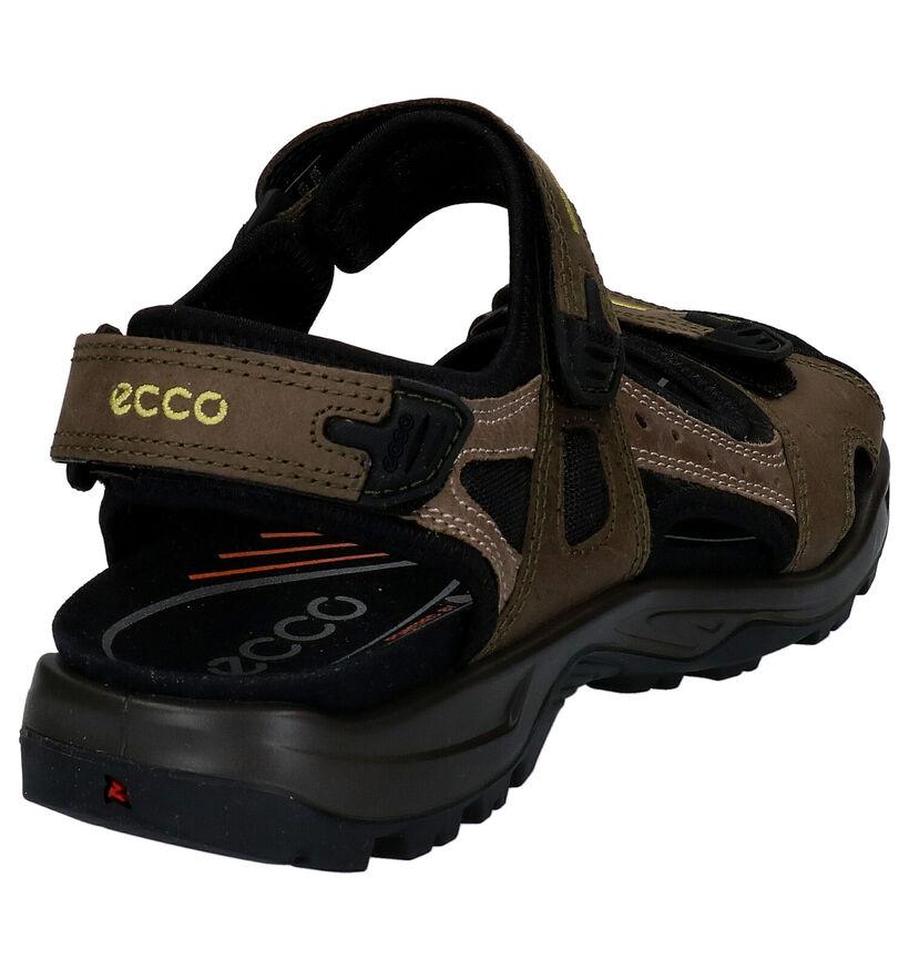 ECCO Offroad Sandales en Bleu en cuir (287387)