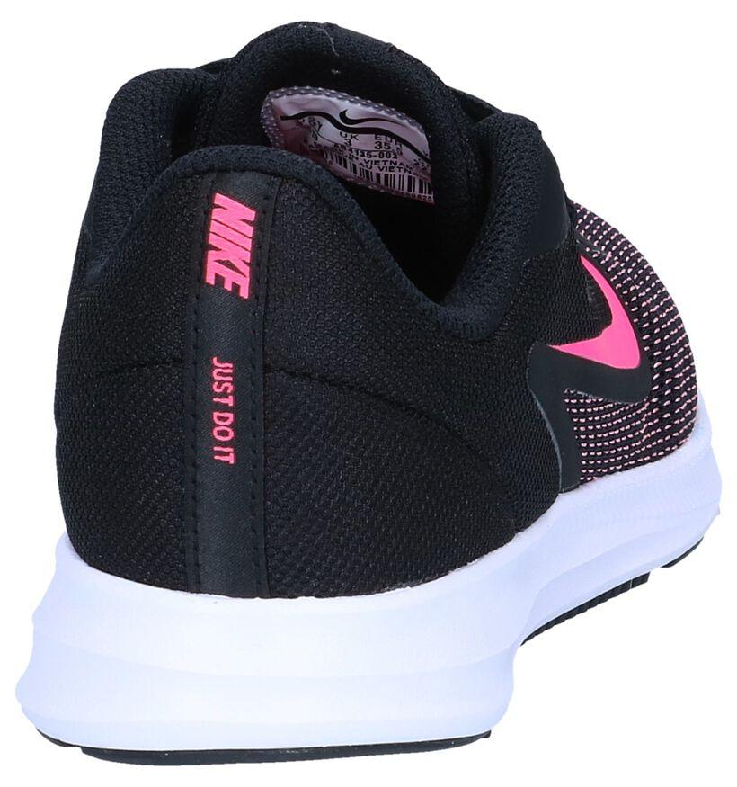Zwarte Runners Nike Downshifter 9 GS in stof (249850)